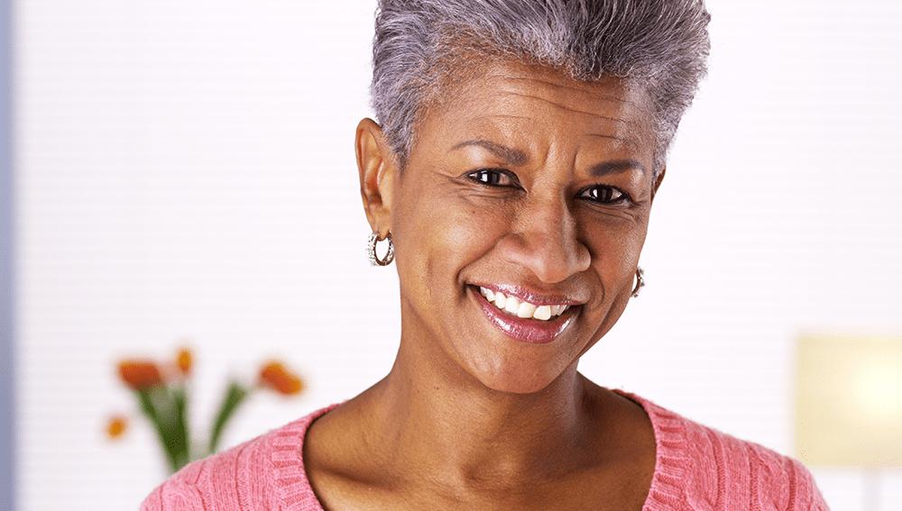 Elder African American Woman